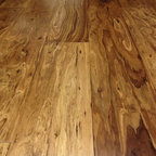 Eucalyptus wood floor - The eucalyptus species of wood offers a very interesting looking floor with great grain structure.  Resin is added for increased durablity. Available at Hemphill's Rugs & Carpets in Orange County, CA www.RugsAndCarpets.com