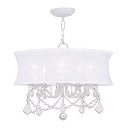 Livex Lighting - Livex Lighting LVX-6305-03 Chandelier - Livex Lighting LVX-6305-03 Chandelier