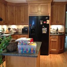 Farmhouse Kitchen Cabinets by Aspen Kitchen & Bath Center
