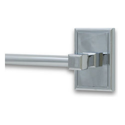 """Residential Essentials - Polished Chrome Hamilton 24"""" Towel Bar(RE2524PC) - Polished Chrome Hamilton 24"""" Towel Bar"""