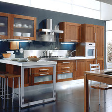 Contemporary Kitchen Cabinetry by European Cabinets & Design Studios