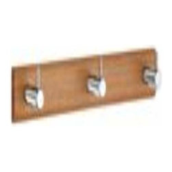 Smedbo - Smedbo Coat Rack Triple Stainless Steel - Smedbo Coat Rack Triple Stainless Steel