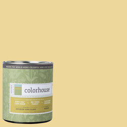 Inspired Semi-Gloss Interior Paint, Beeswax .01, Quart - Colorhouse paints are zero VOC, low-odor, Green Wise Gold certified and have superior coverage and durability. Our artist-crafted colors are designed to be easy backdrops for living. Colorhouse paints are 100% acrylic with no VOCs (volatile organic compounds), no toxic fumes/HAPs-free, no reproductive toxins, and no chemical solvents.