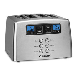 Cuisinart - Cuisinart Touch-to-Toast Leverless Toaster - Stainless steel housing with motorized lift