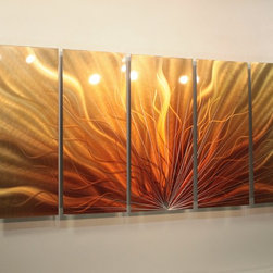 Abstract Metal Art - Wall Sculptures - Jon Allen