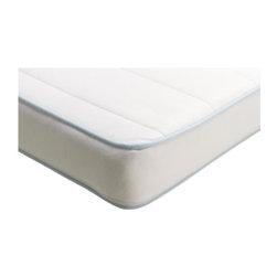 IKEA of Sweden - VYSSA SPELEVINK Mattress for crib - Mattress for crib, white