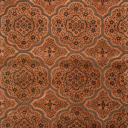 Jaipur Rugs - Transitional Moroccan Pattern Beige /Brown Wool/Silk Tufted Rug - BL73, 3.6x5.6 - Inspired by bold ethnic textiles and the rich hues of Indian spices, the Blue Collection encourages individual expression with a modern flare. Embellishing this mix of playful colors, some designs incorporate a raised carving effect and art silk accents. The Blue Collection combines fluid lines with highly textured hand-tufting for a look that's eye-catching, functional and quintessentially Jaipur.