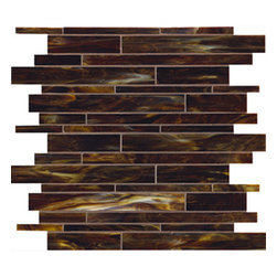 Twisted Walnut Linear Glass Mosaic Tile - Twisted Walnut Linear Glass Mosaic Tile are designed and manufactured for the discerning designer and homeowner. When it comes to adding distinction to your home or design project, choose from our great selection of glass tile, glass mosaics, subway glass tile, vertical glass tile, glass and stainless blends and our linear glass tile. We provide the highest quality glass tile products for all your bathroom and kitchen remodeling needs and all for incredible prices. Visit the links below to find the perfect tile for you and your home!