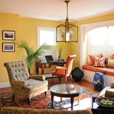 Eclectic Living Room by Cynthia Bliss Ray at Ethan Allen Plymouth