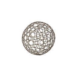 """Silver Nest - Bronze Galaxy Metal Ball- Set of 4- 6""""d - Bronze Galaxy Metal Ball- Set of 4, 6""""d"""