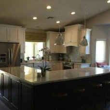 Traditional Kitchen by D'amore Interior Design Studio