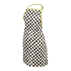 Courtly Check Apron -