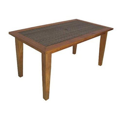 Panama Jack Leeward Islands Rectangular Dining Table