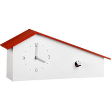 Eclectic Cuckoo Clocks by CB2