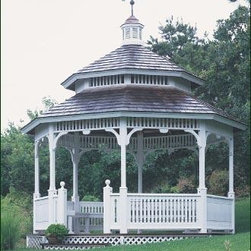 Formal Gazebo - Take a classic design, locate it in your favorite spot in the garden, and you have an impressive, stately structure that will bring years of joy.