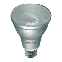 Bulbrite - Soft Daylight Compact Fluorescent Reflector B - One pack of 12 Bulbs. 120V E26 base PAR-20 bulb type. Saves up to 75% in energy costs. Aluminum reflector for better light output. Equivalent to 35 watt halogen PAR20 bulb. Lasts up 6 times longer than incandescent. Non-dimmable. Ideal for residential and commercial use in recessed cans, track and outdoor lighting. Color temperature: 5000K. Wattage: 9 watt. Average hours: 8000. Lumens: 310. Color rendering index: 82. Wide flood beam spread. Energy saving. Recyclable. cULus listed. 2.5 in. Dia. x 3.63 in. H