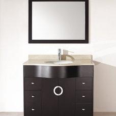 Studio Bathe Zoe 42 Espresso Bathroom Vanity