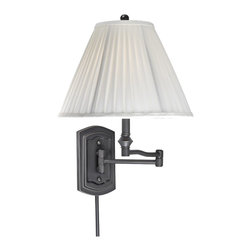 Vaxcel Lighting - Vaxcel Lighting SW-WLS002OR Transitional Swing Arm Wall Sconce - Vaxcel Lighting SW-WLS002OR Transitional Swing Arm Wall Sconce