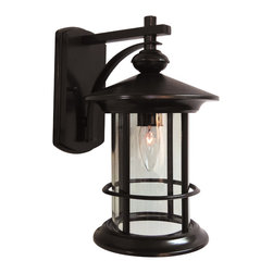 Special Lite - Special Lite F-2851-ORB Bonaventure Top Mount Outdoor Light Fixture - The Bonaventure Series incorporates contemporary style with its smooth lines and round aluminum body.