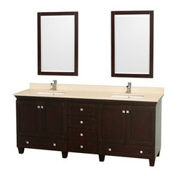 chrome hardware, resulting in a timeless piece of bathroom furniture ...