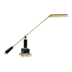 House of Troy - House of Troy PS10-190-M Polished Brass Swing Arm Desk Lamp - House of Troy PS10-190-M Polished Brass Swing Arm Desk Lamp