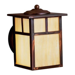 Kichler - Kichler Alameda Outdoor Wall Mount Light Fixture in Canyon View - Shown in picture: Outdoor Wall 1Lt Fluorescent in Canyon View