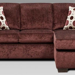 Chelsea Home Worcester Queen Sleeper Sofa Includes toss pillows and 4 in inner spring