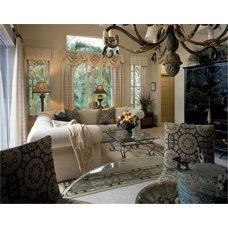 Traditional Family Room by Debra J Interiors