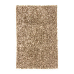"""Jaipur - Jaipur Flux  FL06 RUG101768 Area Rug - Personal expression reaches new heights with Flux, a beautiful range of plush, hand-woven shag rugs of 100 percent polyester. This """"chameleon"""" is ideal for the contemporary design lover who enjoys mixing up his or her personal space often - acting as a rich background to a diverse palette of furnishings and accessories. Highly textured shag construction brings comfort underfoot while a palette of fashion forward solid hues commands attention in any room."""