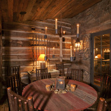 Rustic  by Lynne Barton Bier - Home on the Range Interiors