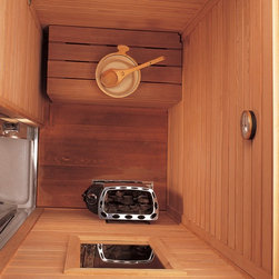 Sauna Rooms - Sauna rooms are as varied in their uses as in size and style. It is ideally suited for such venues as shower rooms, fitness rooms, upscale homes, hotels, fitness centers, as well as a serene outdoor setting.