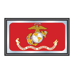 Trademark Global - Trademark Global US Marines Logo Framed Mirror - 27W x 15H in. Multicolor - USMC - Shop for Mirrors from Hayneedle.com! About Trademark Global Inc.Located in Lorain Ohio Trademark Global offers a vast selection of items for your home and lifestyle. Whether you need automotive products collectibles electronics general merchandise home and garden items home decor house wares outdoor supplies sporting goods tools or toys Trademark Global has it at a price you can afford. Decor items and so much more are the hallmark of this company.
