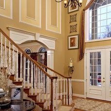 Traditional Staircase by House Candy
