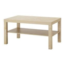 IKEA of Sweden - LACK Coffee table - Coffee table, birch effect