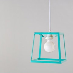 eclectic pendant lighting by Gretel