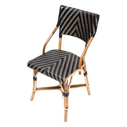 French Cafe Chairs - Add a little French flair and cafe society style to your kitchen with these fabulous woven chairs. There are multiple patterns and colors available - customize until your heart's content! Good luck picking a favorite.