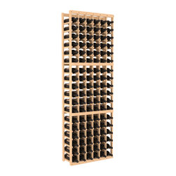 Wine Racks America - 6 Column Standard Wine Cellar Kit in Pine, (Unstained) - Six columns of storage accommodates nine cases of wine — surely that's arithmetic worth toasting! This easy-to-assemble cellar is made of pine, available in your choice of colors and finishes and, thanks to savvy modular design, it's expandable to accommodate your growing collection. Cheers!
