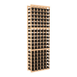 Six-Column Standard Wine Cellar Kit in Pine