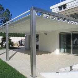 Pergotenda- Patio awnings with retractable roofs by Corradi - See Corradi  at www.corradisa.co.za