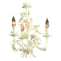 EuroLux Home - Consigned Vintage 3-Arm French Chandelier Metal - Product Details