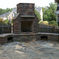 Traditional Patio by Iron River Building Group, Inc