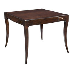 EuroLux Home - New Game Table Addison Ebonized Mahogany - Product Details
