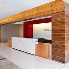 Modern Office Reception Space Design | The Architect's Slate