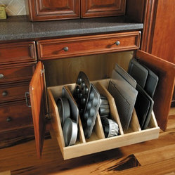 Fieldstone, where Form meets Function - Storage for baking pans and cookie sheets
