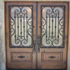 Modern Front Doors by Marquez Iron Works