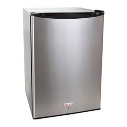Blaze Outdoor - Stainless Front 4.6 CU Fridge - Spacious 4.6 interior allows for storage convenience