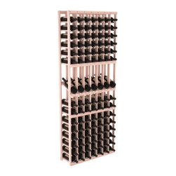Wine Racks America - 7 Column Display Row Wine Cellar Kit in Redwood, White Wash + Satin Finish - Display rows allow presentation of favored and coveted labels. Your best vintages will greet onlookers in style. All the edges of our products are softened to ensure you won't get nicks or splinters, like you will from budget brands. You'll be satisfied. We guarantee it.