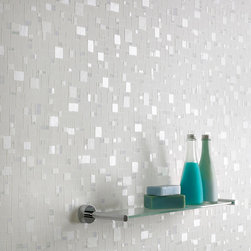 Graham & Brown - Spa Wallpaper - Create a bright, fresh look with subtle hints of shimmer with this 'Spa' wallpaper. This design, created using light and non-intrusive whites and blues, is ideal for bathrooms and can be cleaned with a sponge or even scrubbed if necessary for easy maintenance. Spa is both durable and attractive and can give that stylish kick to what could be a dull bathroom.