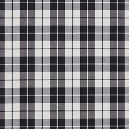 Black And White Plaid Cotton Heavy Duty Upholstery Fabric By The Yard - Solid cotton canvas upholstery fabric are great for upholstery, bedding, window treatments and all other fabric related projects. This material is preshrunk 12 ounce cotton, and finished with Teflon for enhanced stain resistance. Solids are excellent for correlating with. Of course, they will look good alone too!