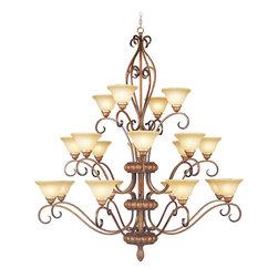 Livex Lighting - Livex Lighting 8289-57 Ceiling Light/Chandelier - Livex Lighting 8289-57 Ceiling Light/Chandelier